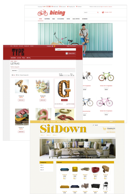 Tiendas virtuales Openshopen