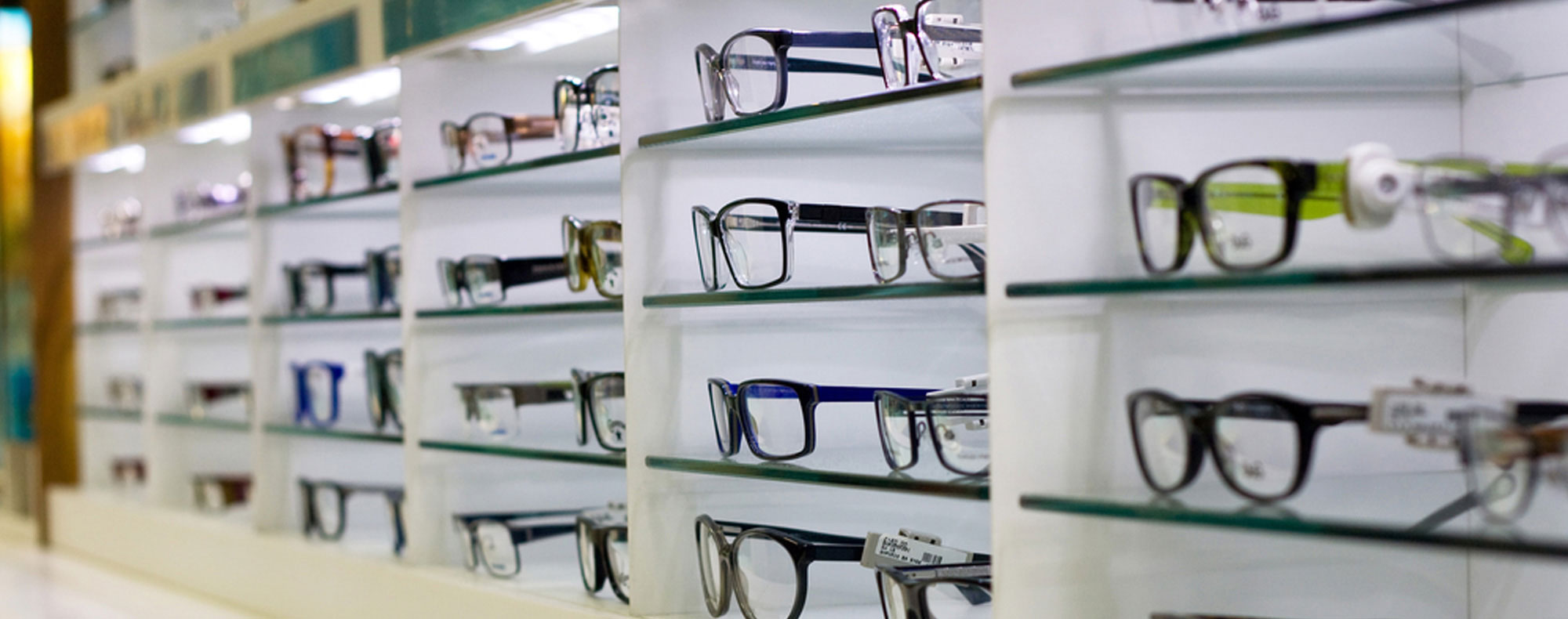 Glasses virtual stores